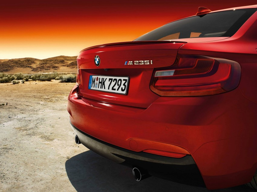 New BMW 2 Series Coupe and M235i unveiled in full Image #207209