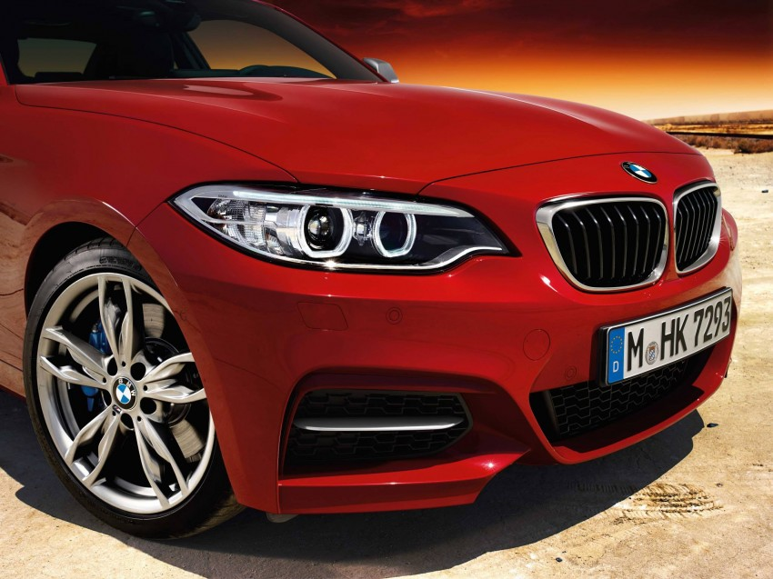 New BMW 2 Series Coupe and M235i unveiled in full Image #207211