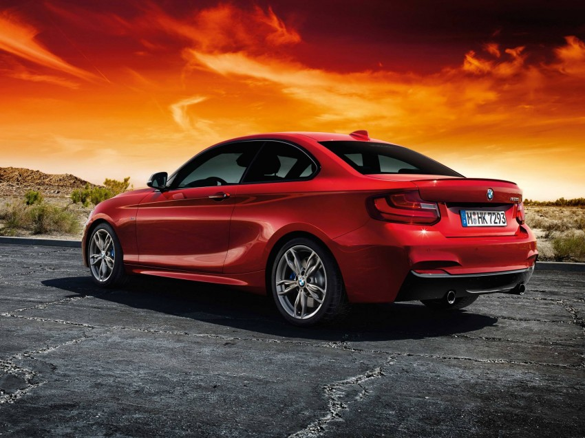 New BMW 2 Series Coupe and M235i unveiled in full Image #207212