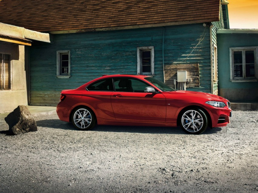 New BMW 2 Series Coupe and M235i unveiled in full Image #207206