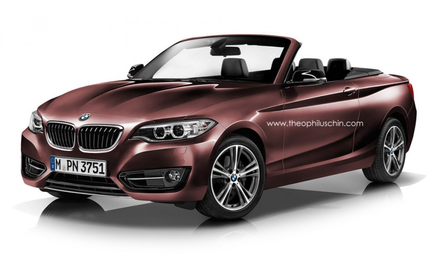 BMW 2 Series Convertible rendered, coming up next Image #206914