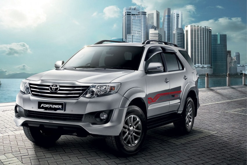 Toyota Fortuner updated: now with black cabin, Isofix Image #206794