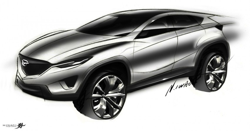 Mazda3-based crossover is being considered – report Image #205041