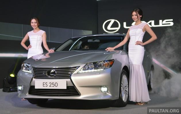 2013 Lexus ES 6
