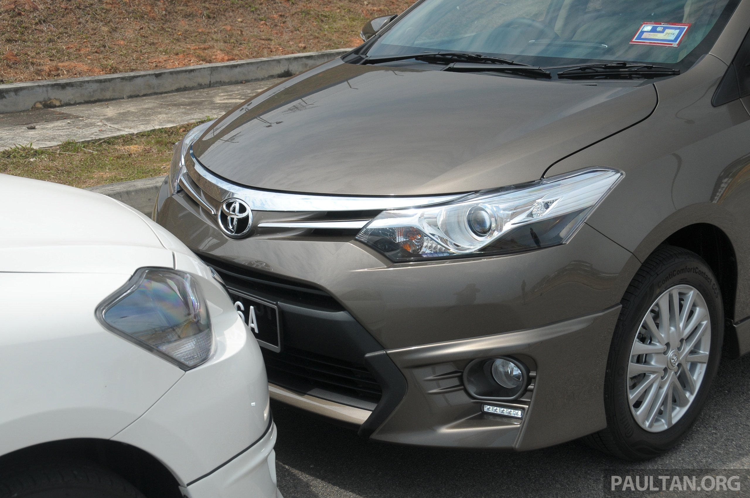 GALLERY: 2012 and 2013 Toyota Vios, side by side
