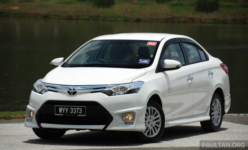 DRIVEN: 2013 Toyota Vios 1.5 G sampled in Putrajaya Image #202484