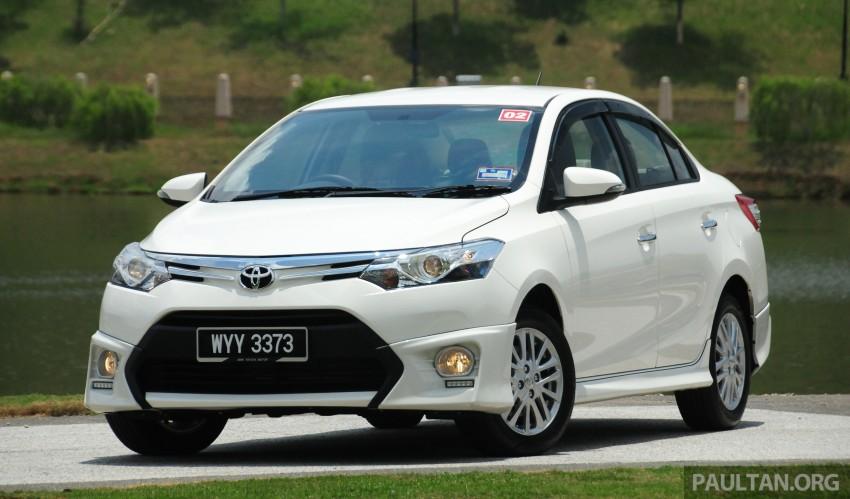 DRIVEN: 2013 Toyota Vios 1.5 G sampled in Putrajaya Image #202485