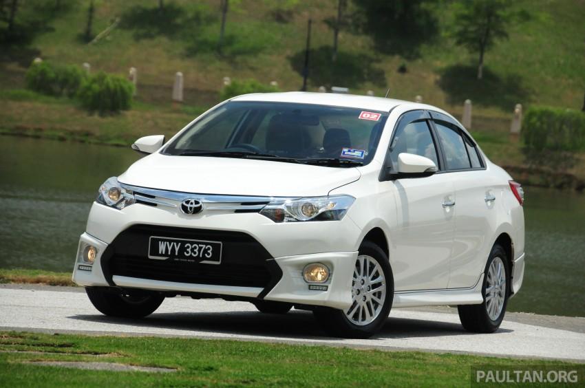 DRIVEN: 2013 Toyota Vios 1.5 G sampled in Putrajaya Image #202486