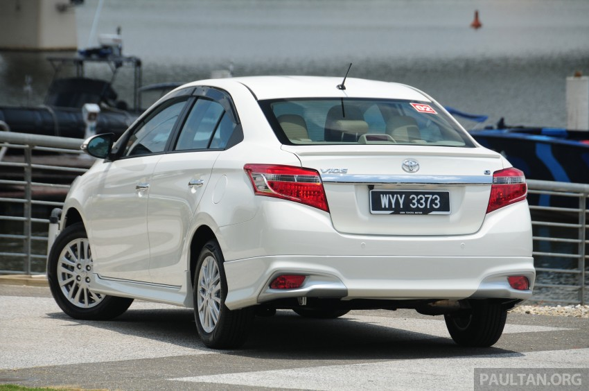 DRIVEN: 2013 Toyota Vios 1.5 G sampled in Putrajaya Image #202487