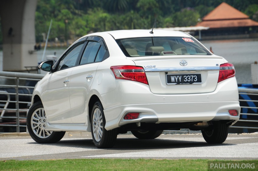 DRIVEN: 2013 Toyota Vios 1.5 G sampled in Putrajaya Image #202488