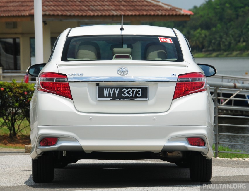 DRIVEN: 2013 Toyota Vios 1.5 G sampled in Putrajaya Image #202489