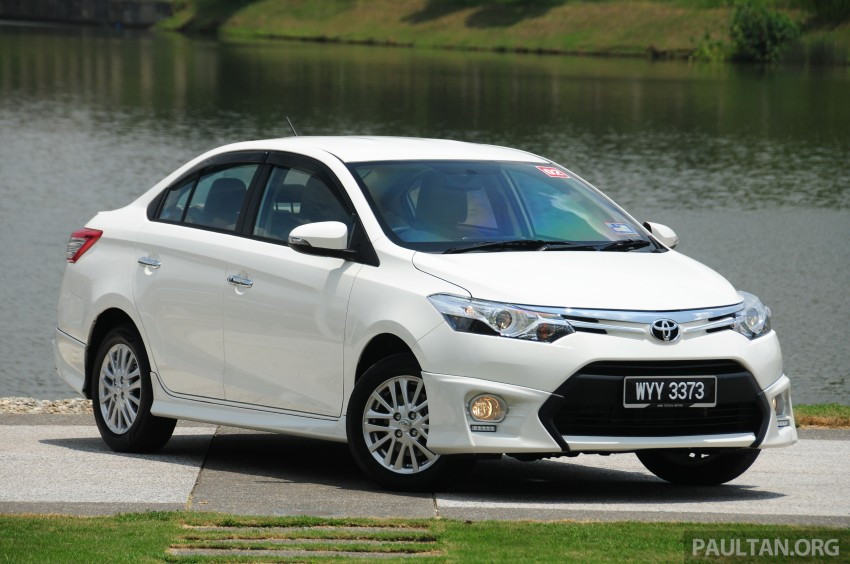 DRIVEN: 2013 Toyota Vios 1.5 G sampled in Putrajaya Image #202490