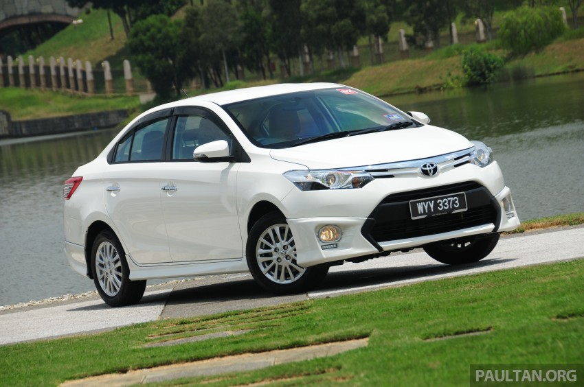 DRIVEN: 2013 Toyota Vios 1.5 G sampled in Putrajaya Image #202492