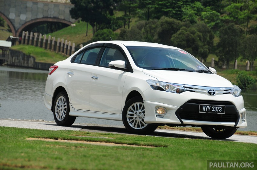 DRIVEN: 2013 Toyota Vios 1.5 G sampled in Putrajaya Image #202493