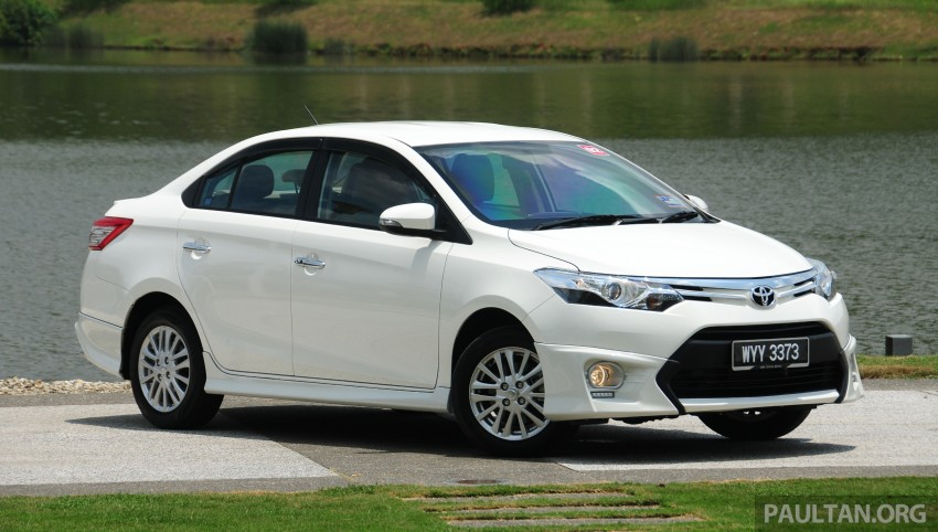 DRIVEN: 2013 Toyota Vios 1.5 G sampled in Putrajaya Image #202494