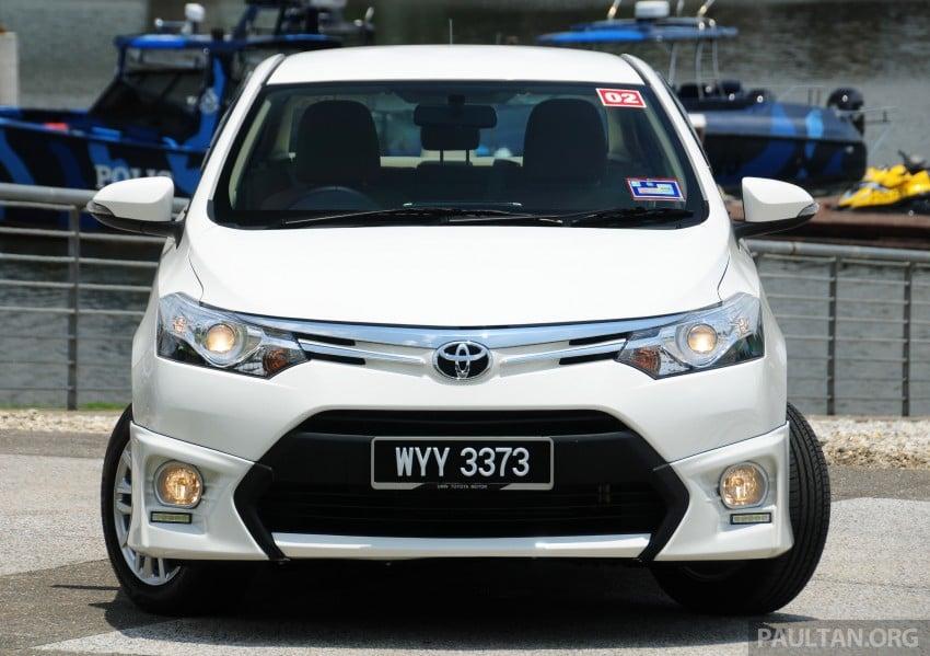 DRIVEN: 2013 Toyota Vios 1.5 G sampled in Putrajaya Image #202495