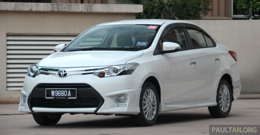 DRIVEN: 2013 Toyota Vios 1.5 G sampled in Putrajaya Image #202497