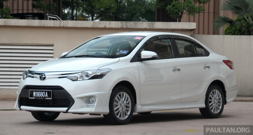 DRIVEN: 2013 Toyota Vios 1.5 G sampled in Putrajaya Image #202498