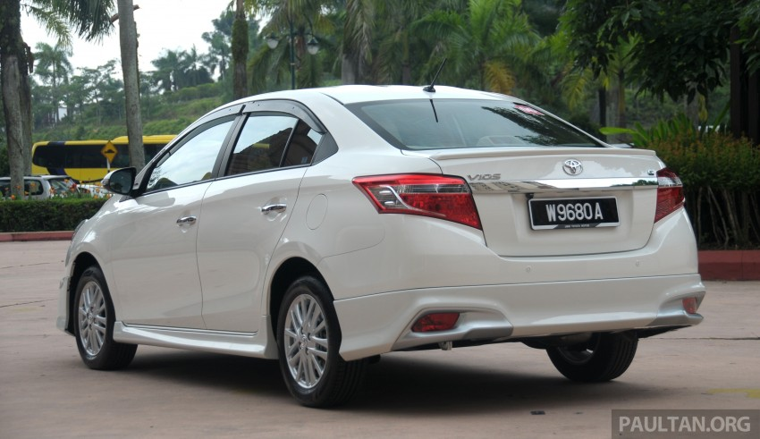 DRIVEN: 2013 Toyota Vios 1.5 G sampled in Putrajaya Image #202499