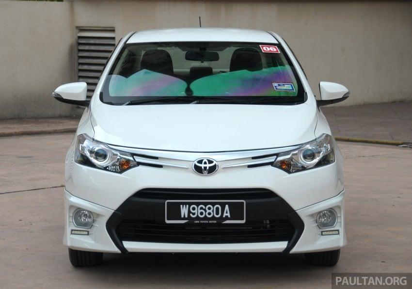 DRIVEN: 2013 Toyota Vios 1.5 G sampled in Putrajaya Image #202501