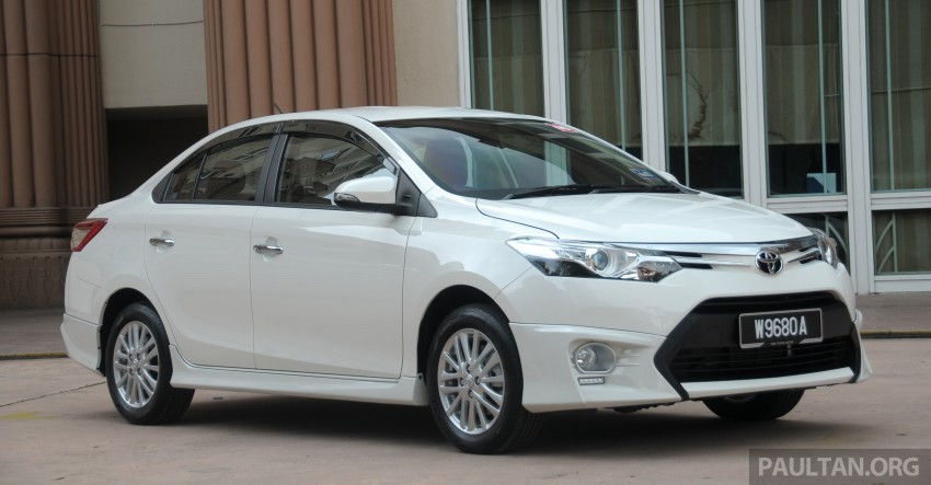 DRIVEN: 2013 Toyota Vios 1.5 G sampled in Putrajaya Image #202504