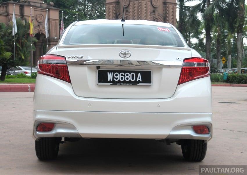 DRIVEN: 2013 Toyota Vios 1.5 G sampled in Putrajaya Image #202505