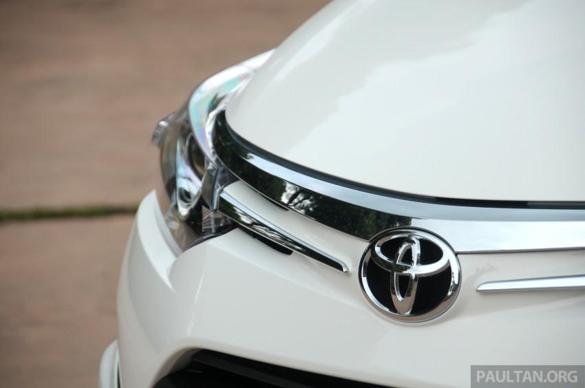 DRIVEN: 2013 Toyota Vios 1.5 G sampled in Putrajaya Image #202508
