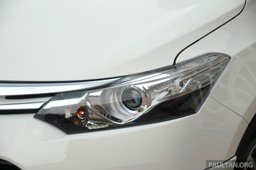 DRIVEN: 2013 Toyota Vios 1.5 G sampled in Putrajaya Image #202509