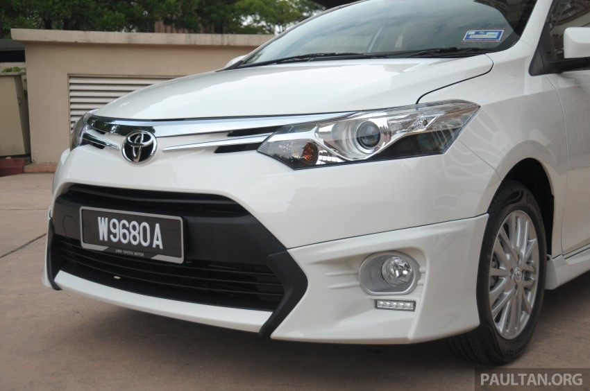 DRIVEN: 2013 Toyota Vios 1.5 G sampled in Putrajaya Image #202510