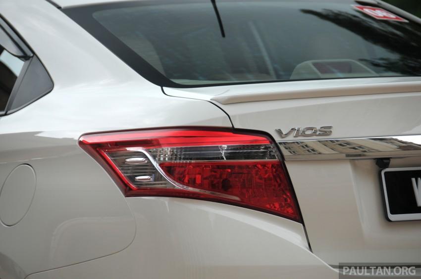 DRIVEN: 2013 Toyota Vios 1.5 G sampled in Putrajaya Image #202511
