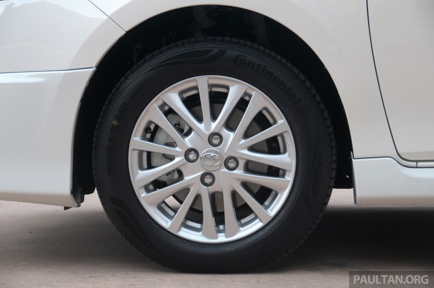 DRIVEN: 2013 Toyota Vios 1.5 G sampled in Putrajaya Image #202512
