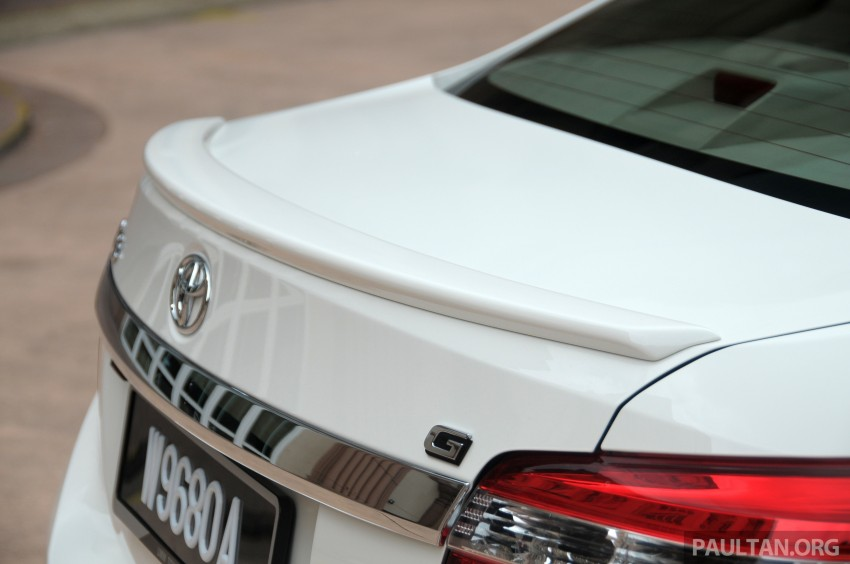 DRIVEN: 2013 Toyota Vios 1.5 G sampled in Putrajaya Image #202523