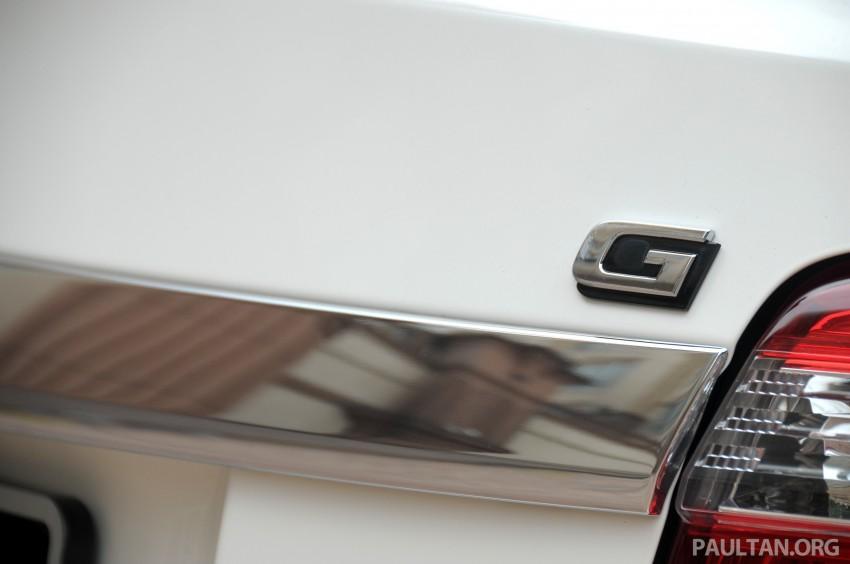 DRIVEN: 2013 Toyota Vios 1.5 G sampled in Putrajaya Image #202525