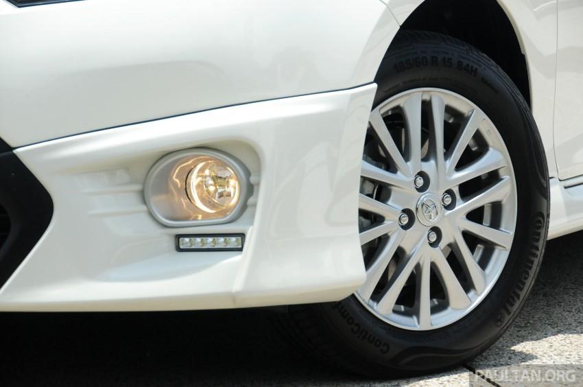 DRIVEN: 2013 Toyota Vios 1.5 G sampled in Putrajaya Image #202528