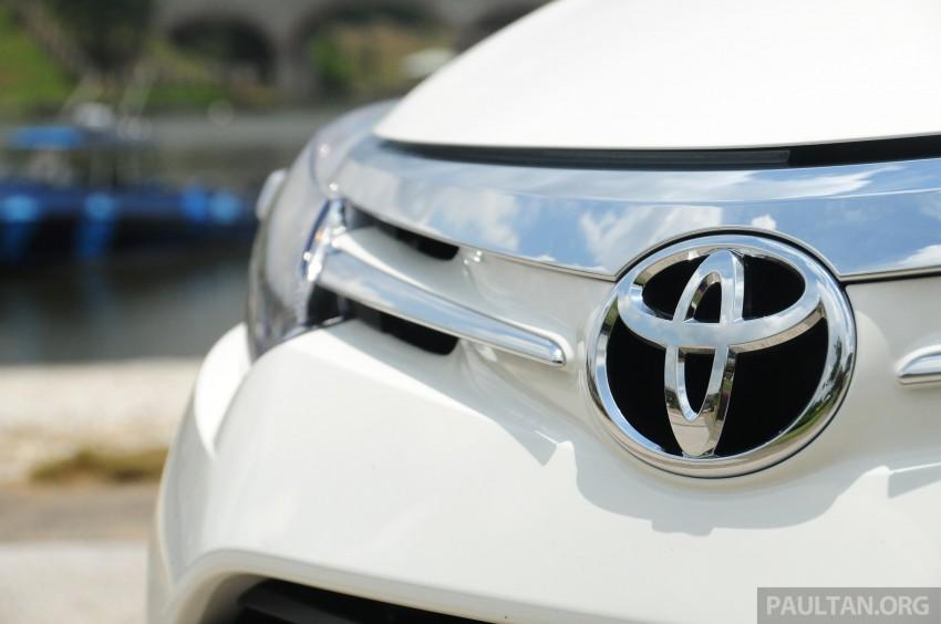 DRIVEN: 2013 Toyota Vios 1.5 G sampled in Putrajaya Image #202529