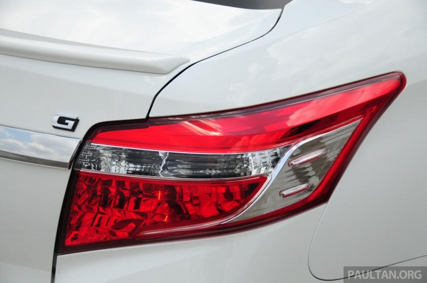 DRIVEN: 2013 Toyota Vios 1.5 G sampled in Putrajaya Image #202538