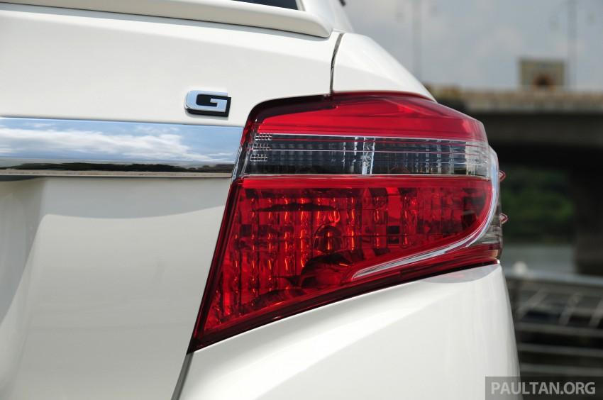 DRIVEN: 2013 Toyota Vios 1.5 G sampled in Putrajaya Image #202540