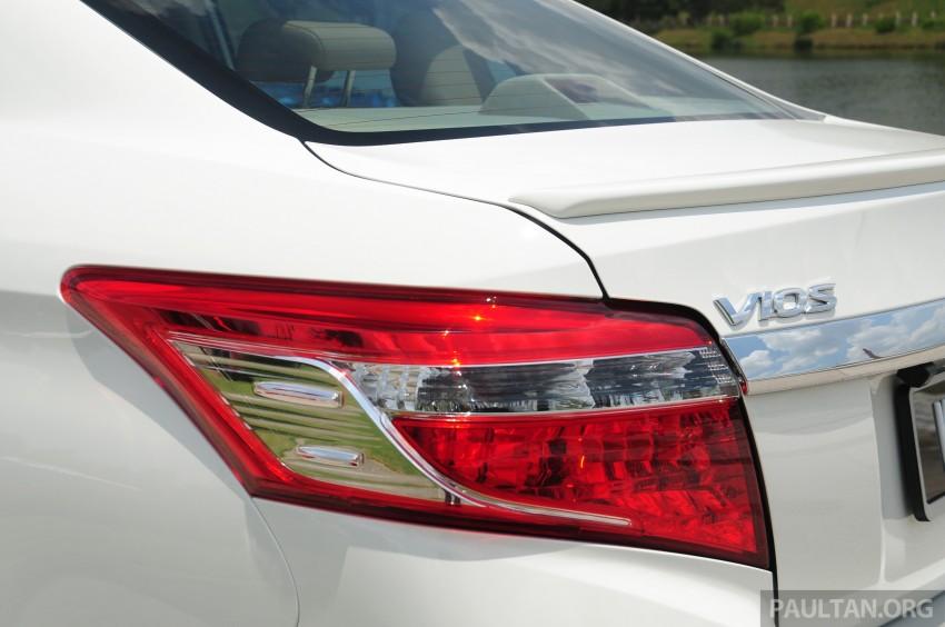 DRIVEN: 2013 Toyota Vios 1.5 G sampled in Putrajaya Image #202541