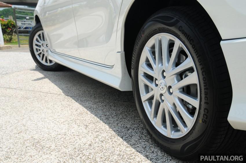 DRIVEN: 2013 Toyota Vios 1.5 G sampled in Putrajaya Image #202544