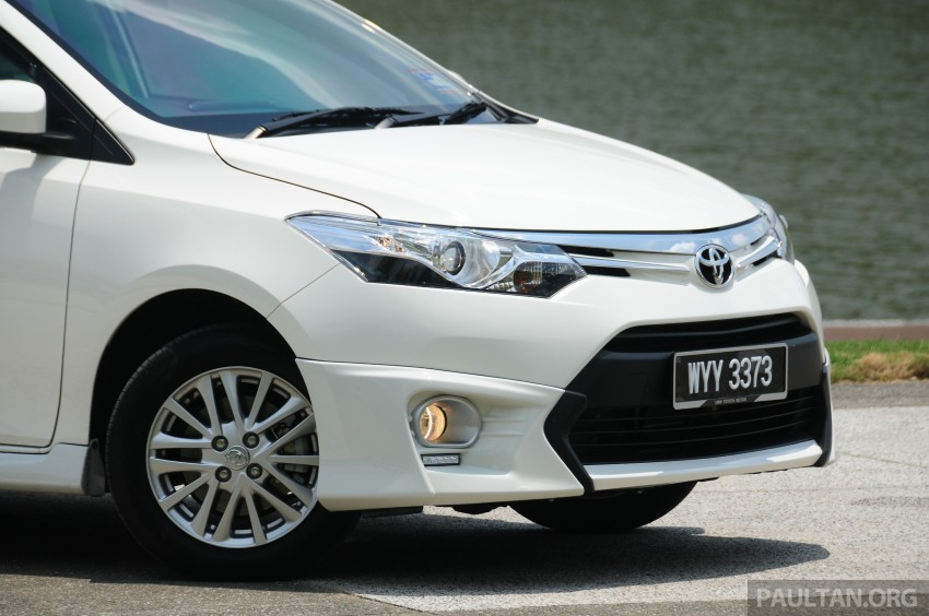 DRIVEN: 2013 Toyota Vios 1.5 G sampled in Putrajaya Image #202548
