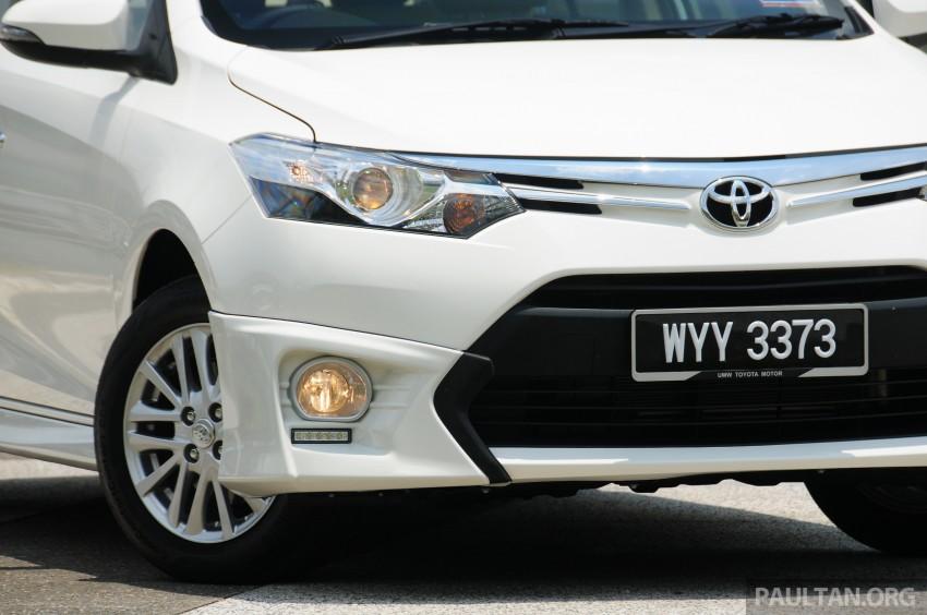DRIVEN: 2013 Toyota Vios 1.5 G sampled in Putrajaya Image #202549