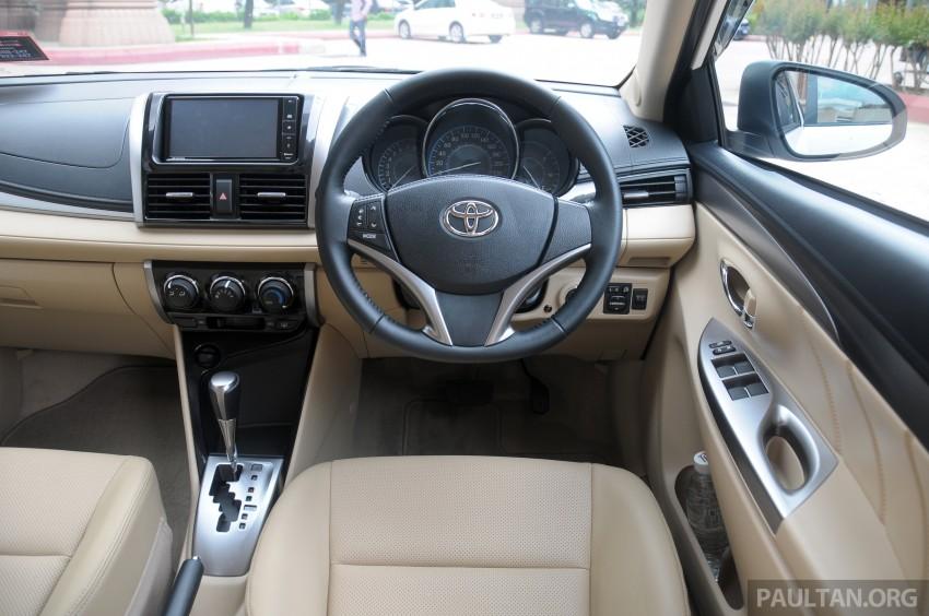 DRIVEN: 2013 Toyota Vios 1.5 G sampled in Putrajaya Image #202562