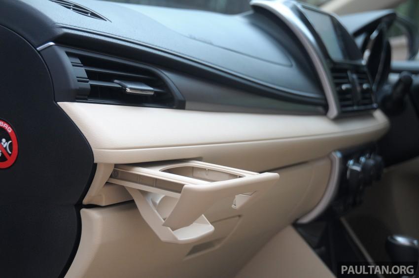 DRIVEN: 2013 Toyota Vios 1.5 G sampled in Putrajaya Image #202567