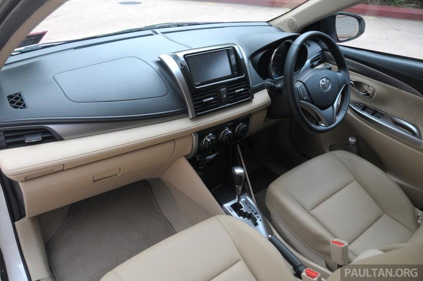 DRIVEN: 2013 Toyota Vios 1.5 G sampled in Putrajaya Image #202568