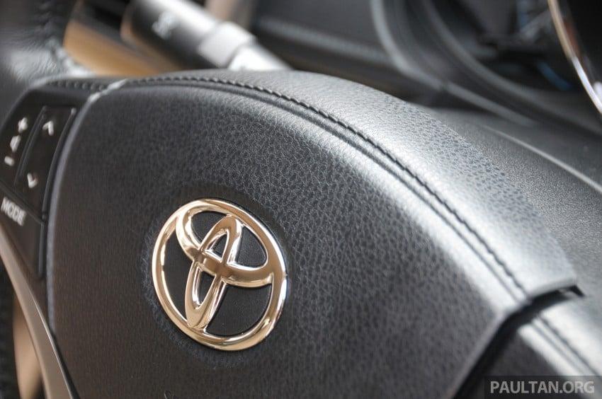DRIVEN: 2013 Toyota Vios 1.5 G sampled in Putrajaya Image #202572