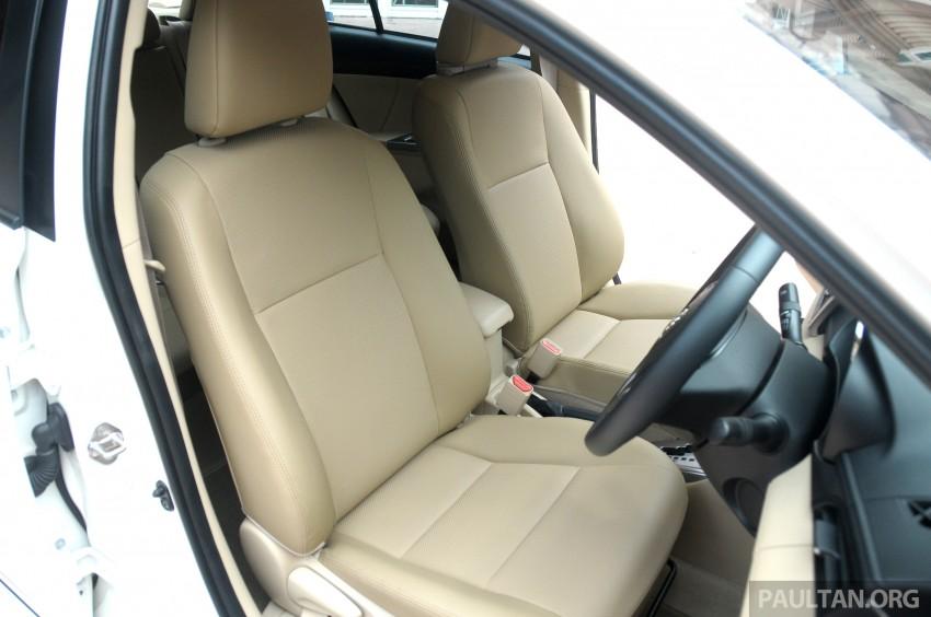 DRIVEN: 2013 Toyota Vios 1.5 G sampled in Putrajaya Image #202575