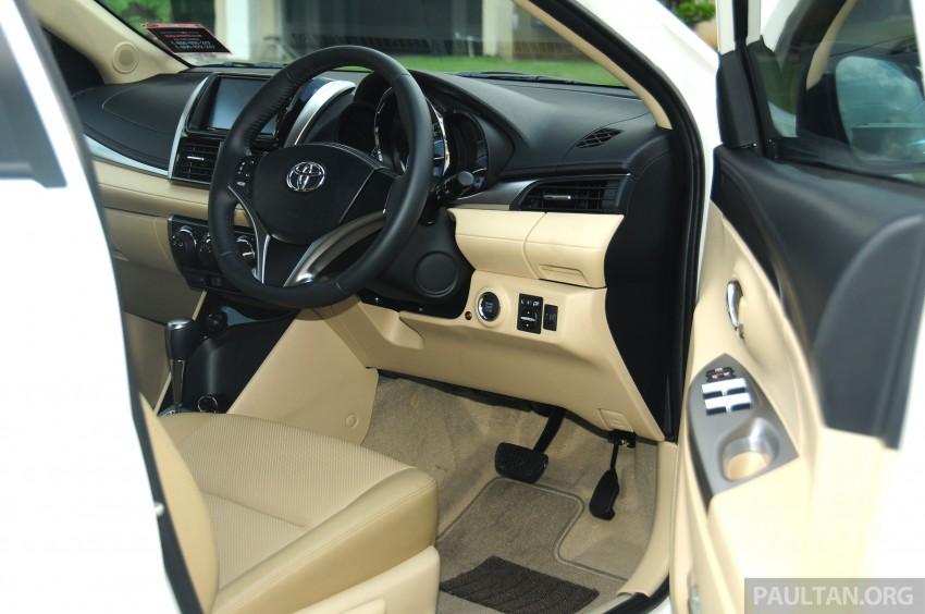 DRIVEN: 2013 Toyota Vios 1.5 G sampled in Putrajaya Image #202576