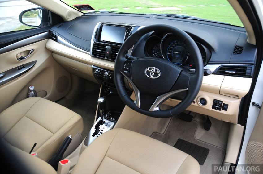 DRIVEN: 2013 Toyota Vios 1.5 G sampled in Putrajaya Image #202578