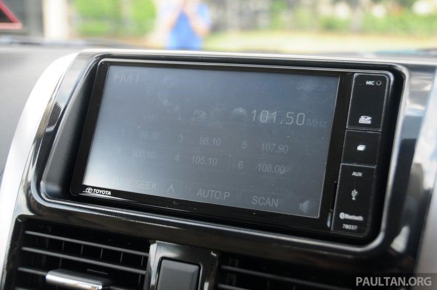 DRIVEN: 2013 Toyota Vios 1.5 G sampled in Putrajaya Image #202580