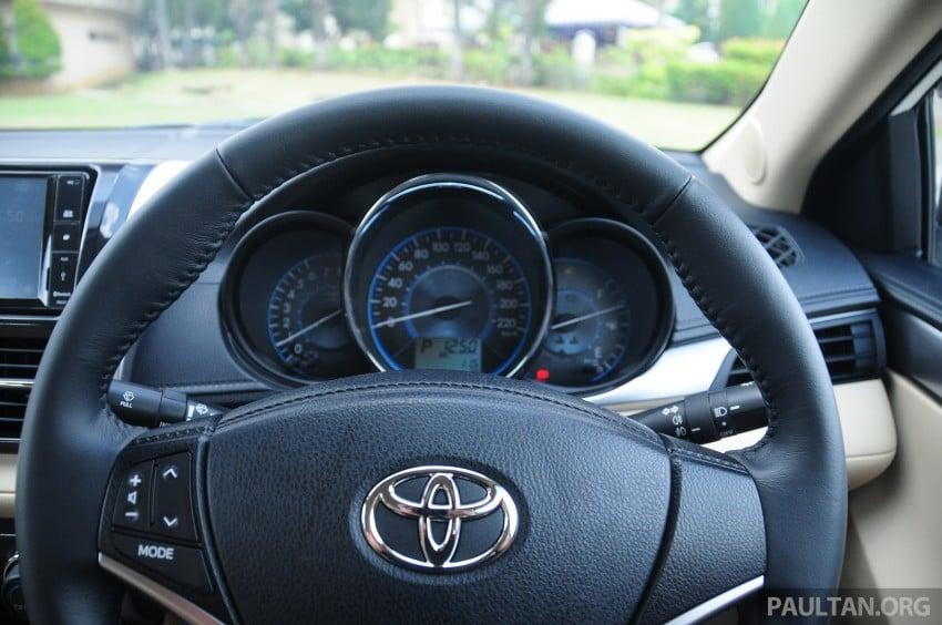 DRIVEN: 2013 Toyota Vios 1.5 G sampled in Putrajaya Image #202584
